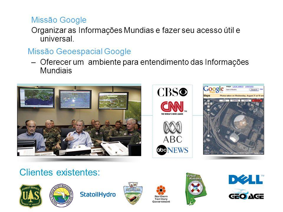 Missão Geoespacial Google