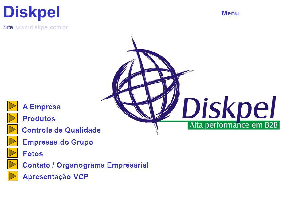 Diskpel A Empresa Produtos Controle de Qualidade Empresas do Grupo
