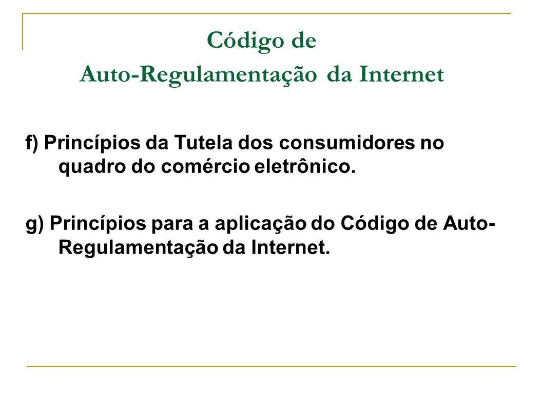 Código de Auto-Regulamentação da Internet