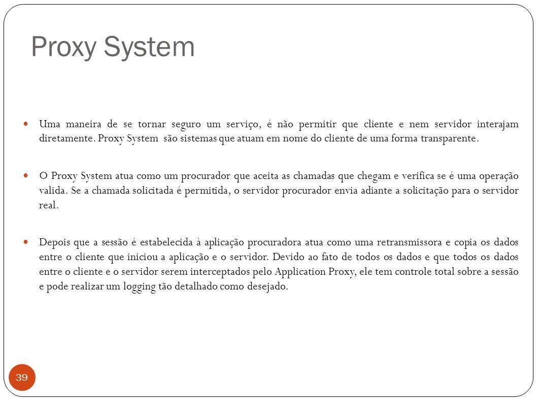 Proxy System