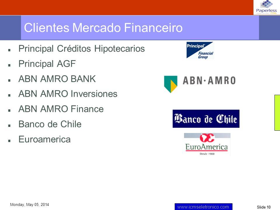 Clientes Mercado Financeiro