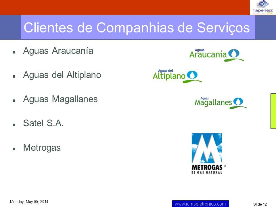 Clientes de Companhias de Serviços