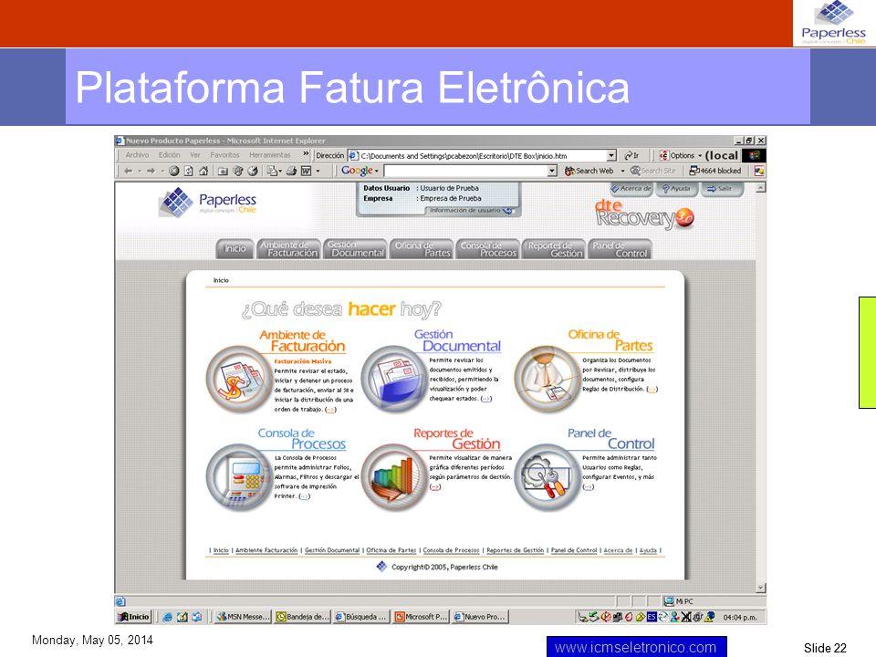 Plataforma Fatura Eletrônica