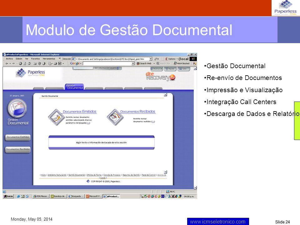 Modulo de Gestão Documental