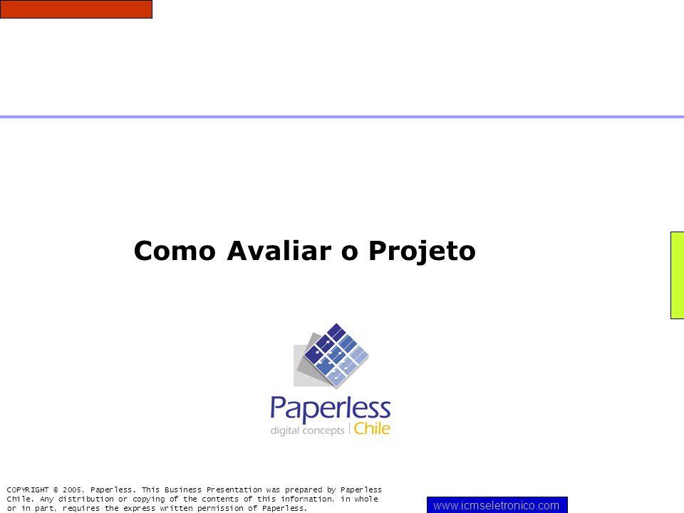 Como Avaliar o Projeto www.icmseletronico.com
