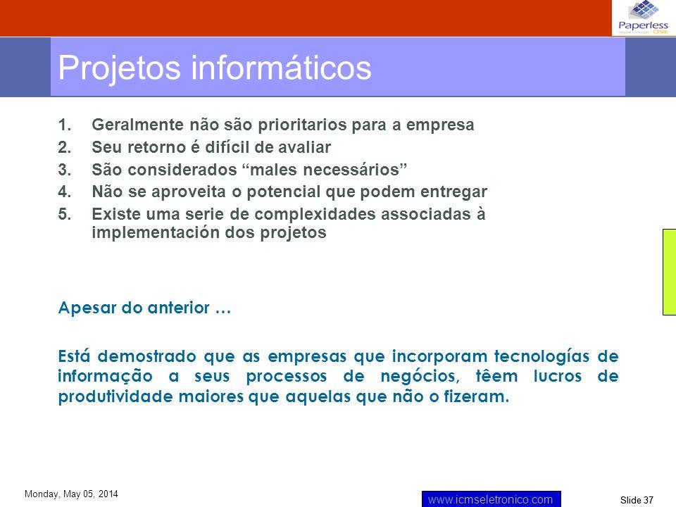 Projetos informáticos