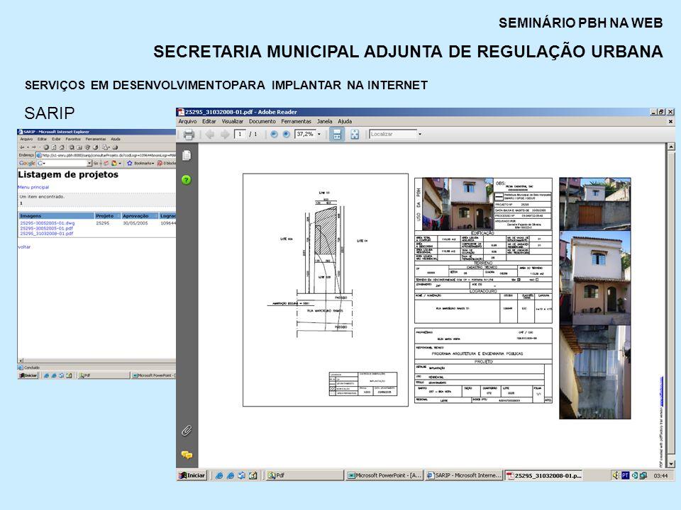 SERVIÇOS EM DESENVOLVIMENTOPARA IMPLANTAR NA INTERNET