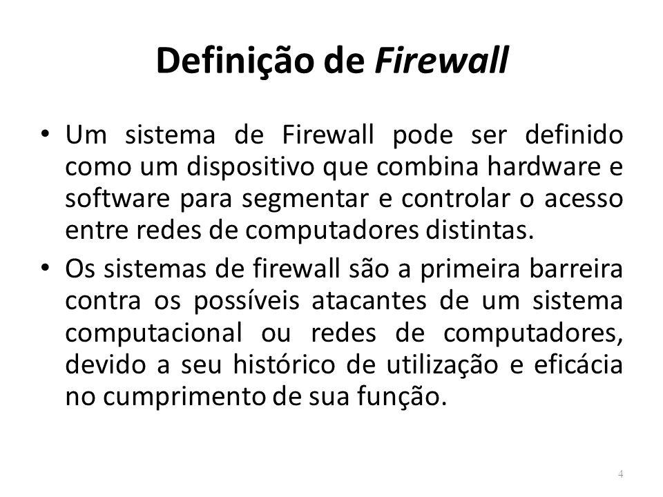 Definição de Firewall