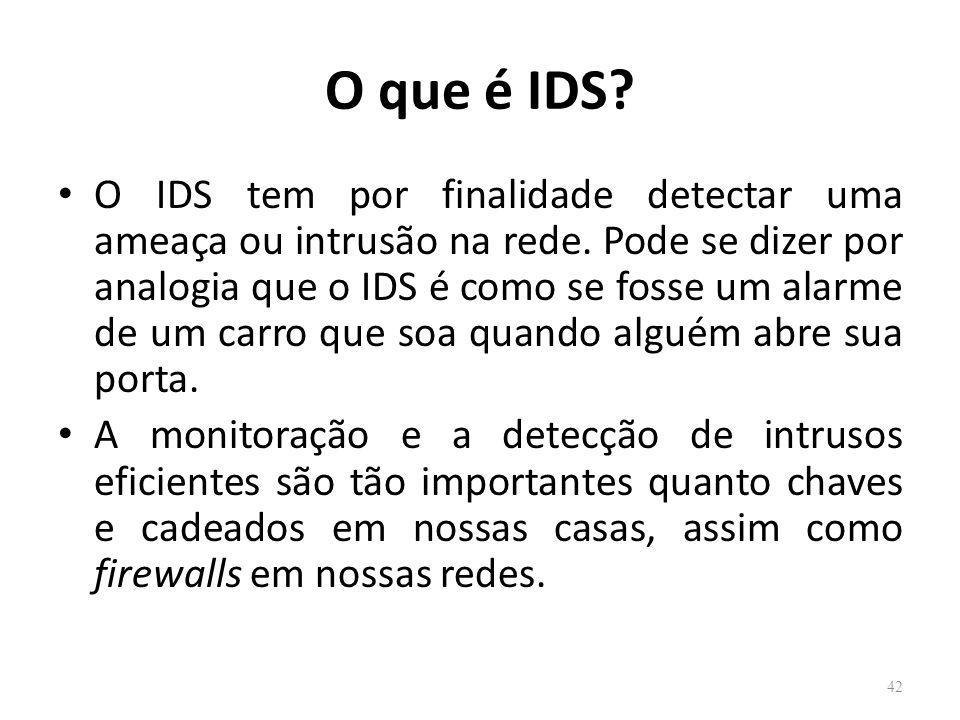 O que é IDS
