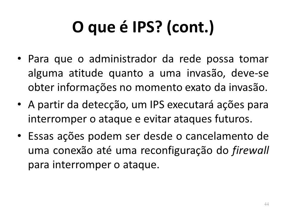 O que é IPS (cont.)