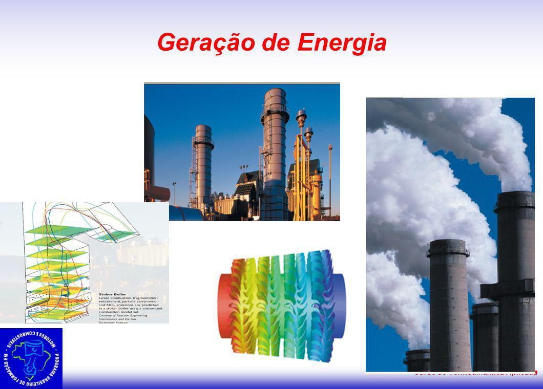 Geração de Energia Curso de Termodinâmica Aplicada