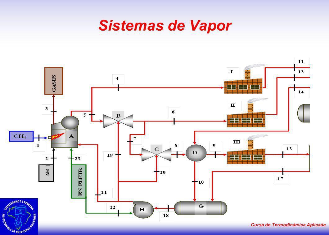 Sistemas de Vapor Curso de Termodinâmica Aplicada