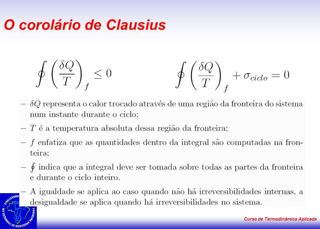 O corolário de Clausius