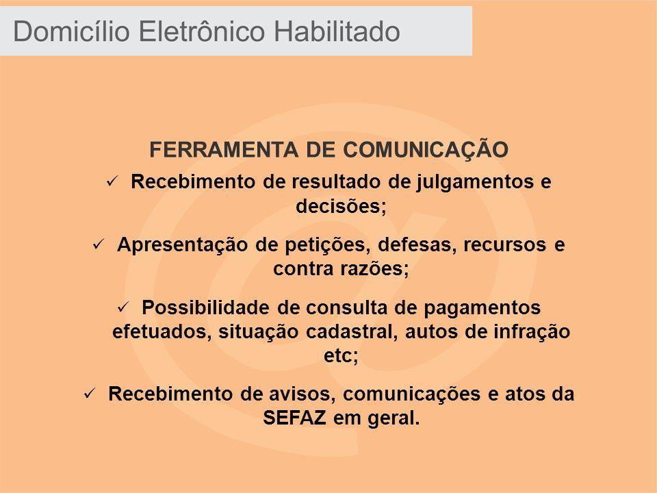FERRAMENTA DE COMUNICAÇÃO