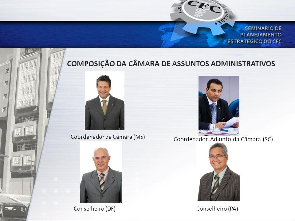 COMPOSIÇÃO DA CÂMARA DE ASSUNTOS ADMINISTRATIVOS