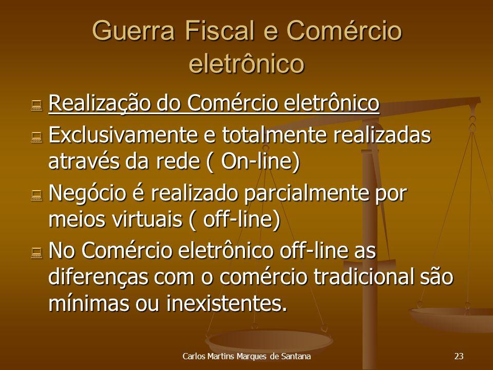 Guerra Fiscal e Comércio eletrônico