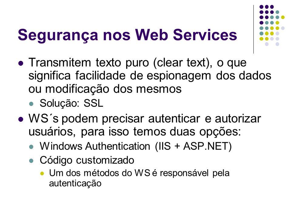 Segurança nos Web Services