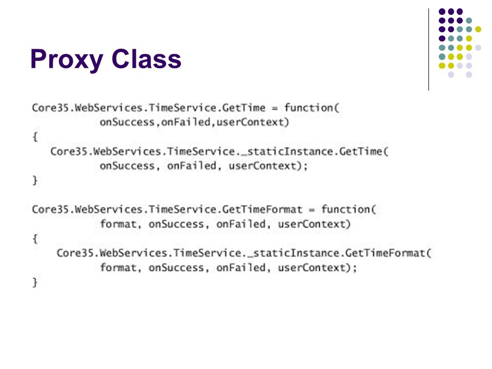 Proxy Class