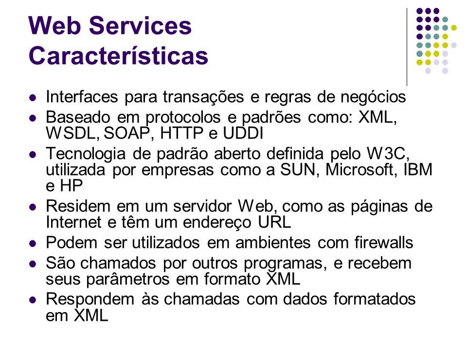 Web Services Características