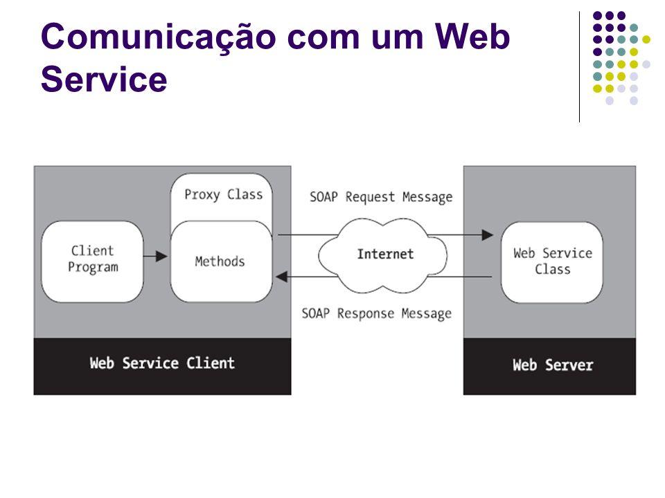 Comunicação com um Web Service