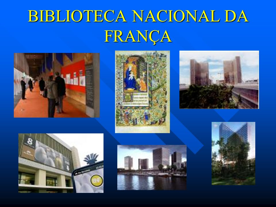 BIBLIOTECA NACIONAL DA FRANÇA