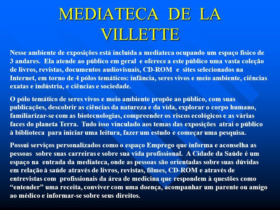 MEDIATECA DE LA VILLETTE