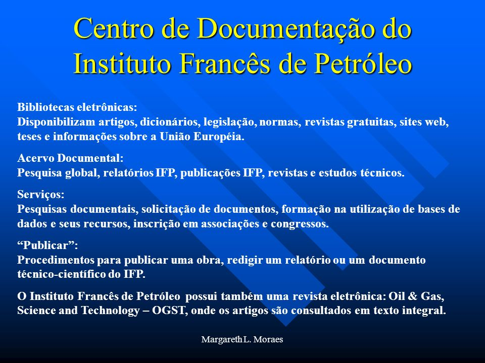 Centro de Documentação do Instituto Francês de Petróleo