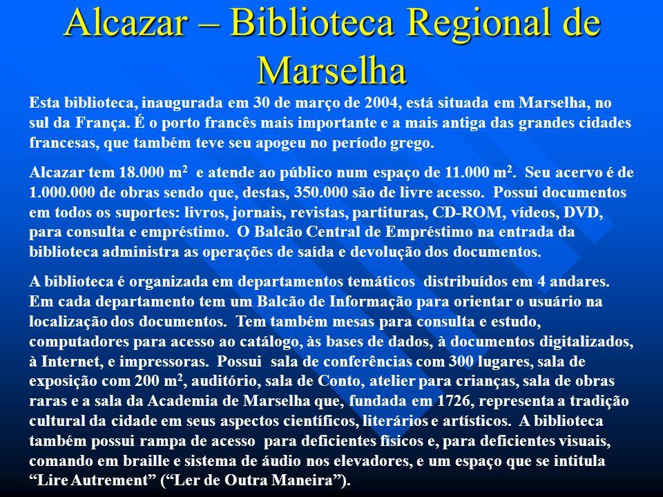 Alcazar – Biblioteca Regional de Marselha