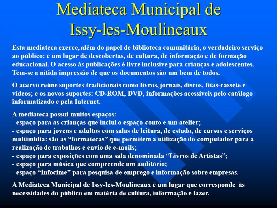 Mediateca Municipal de Issy-les-Moulineaux