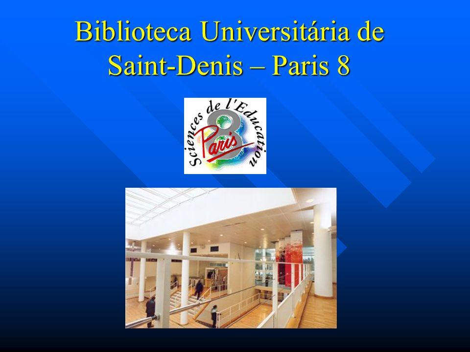 Biblioteca Universitária de Saint-Denis – Paris 8
