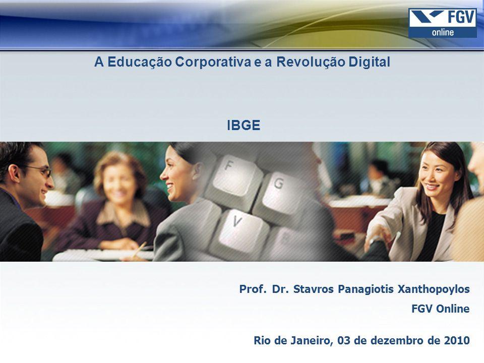 A Educação Corporativa e a Revolução Digital
