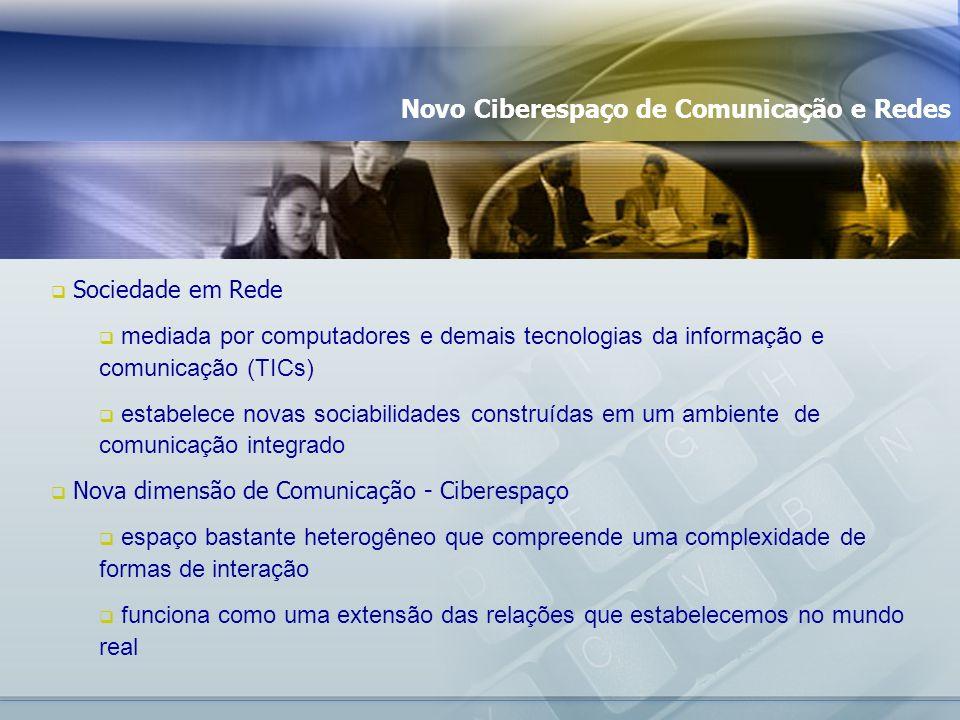 Novo Ciberespaço de Comunicação e Redes