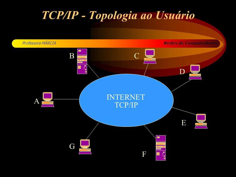 TCP/IP - Topologia ao Usuário