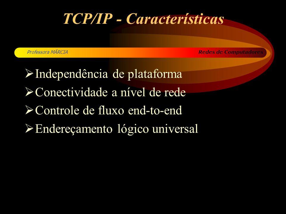 TCP/IP - Características