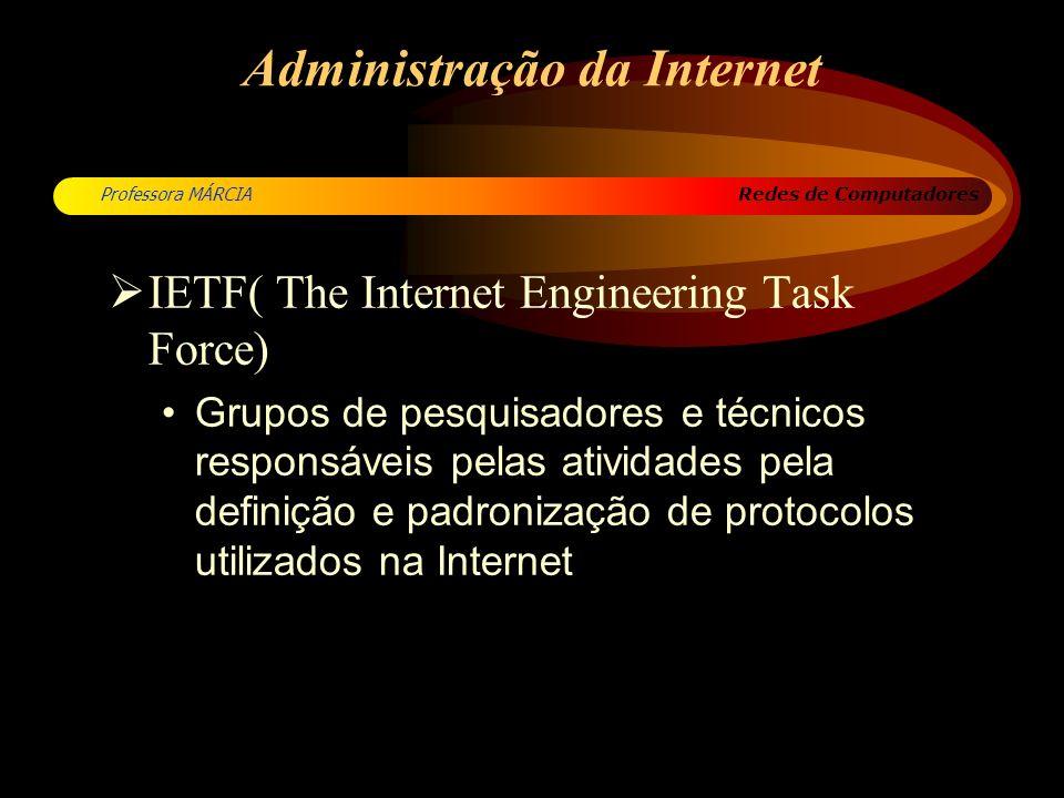 Administração da Internet