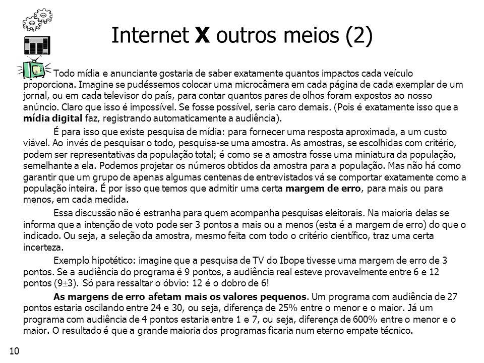 Internet X outros meios (2)