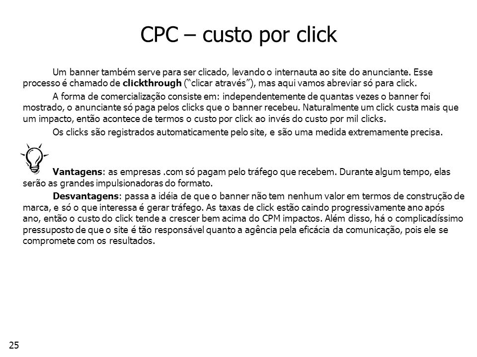 CPC – custo por click