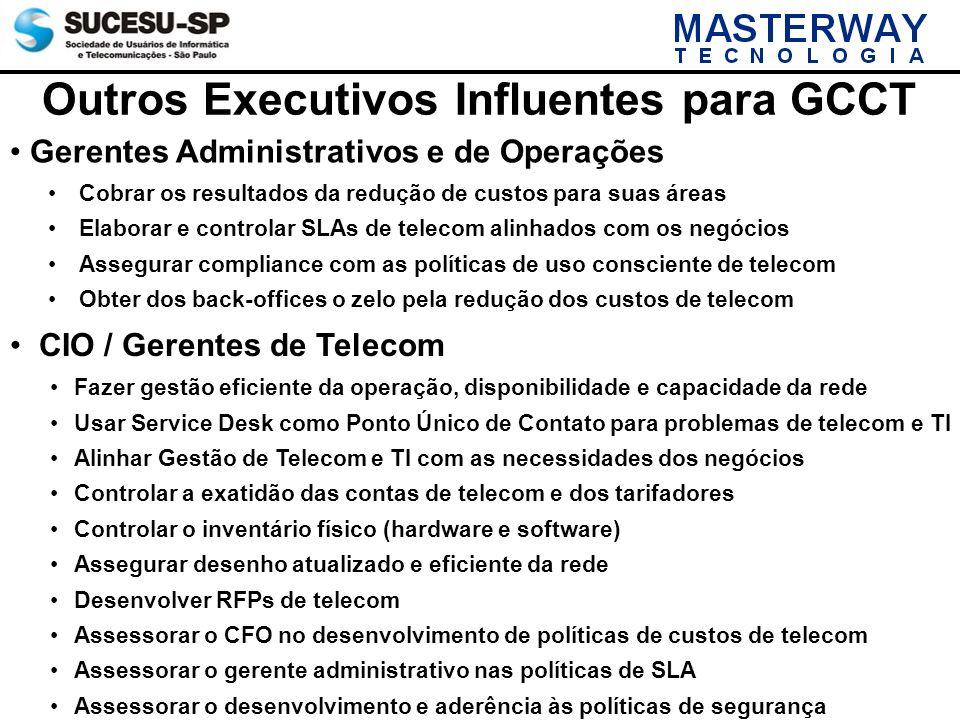 Outros Executivos Influentes para GCCT
