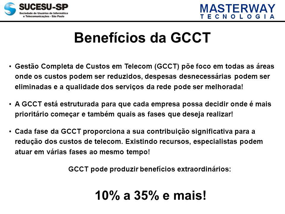 GCCT pode produzir benefícios extraordinários:
