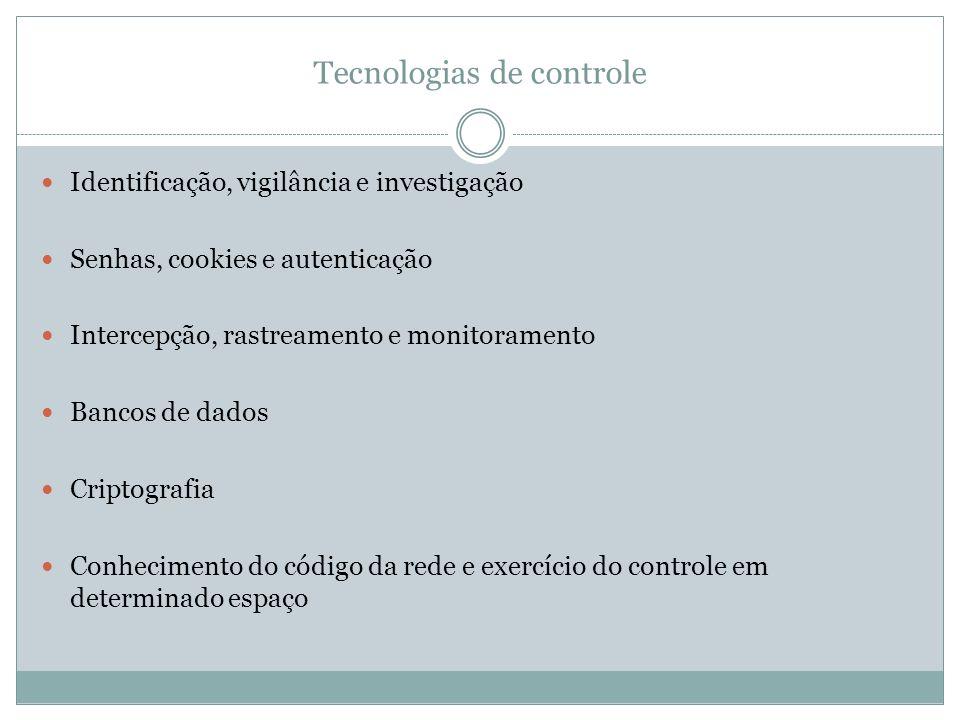Tecnologias de controle