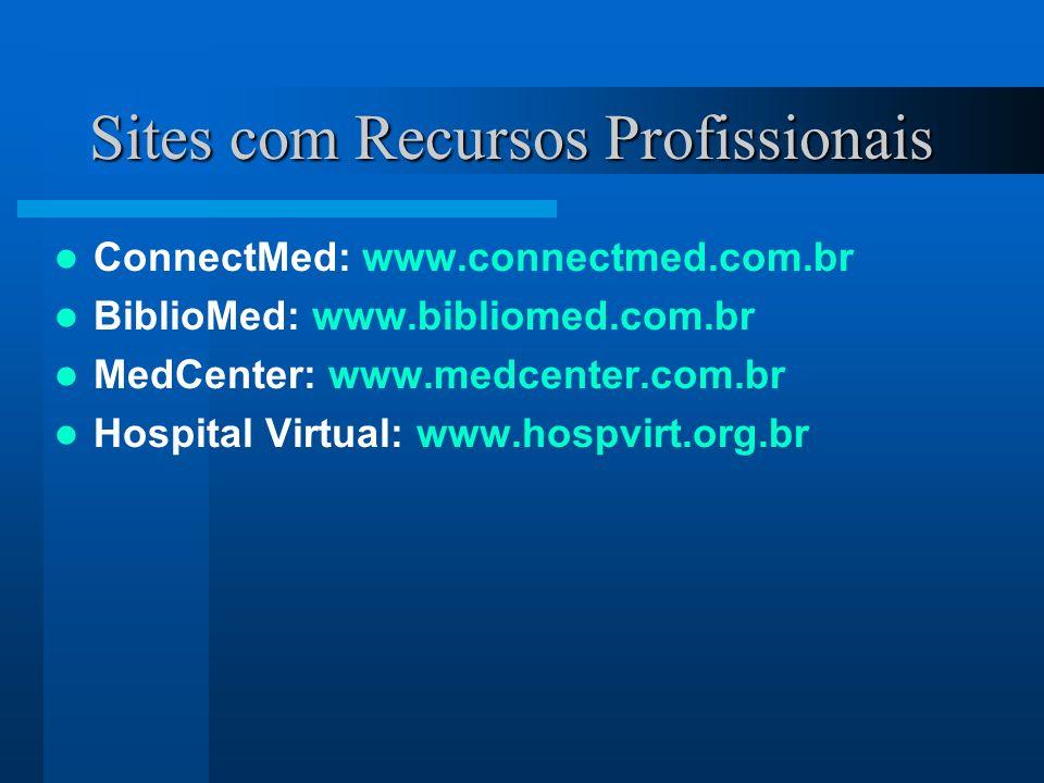 Sites com Recursos Profissionais