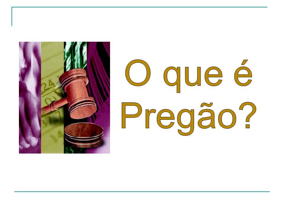 O que é Pregão