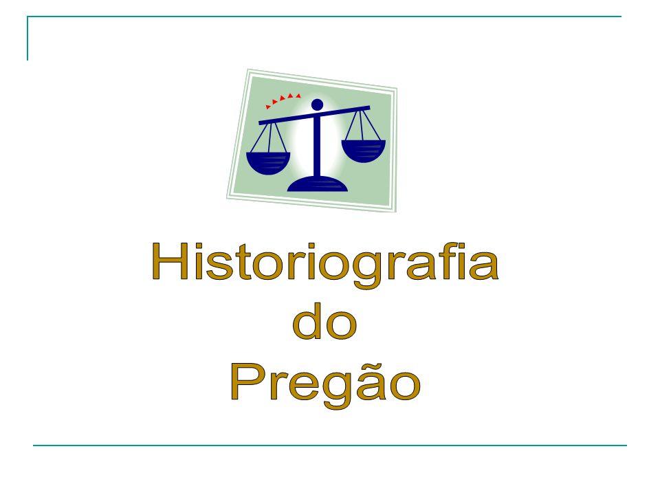 Historiografia do Pregão