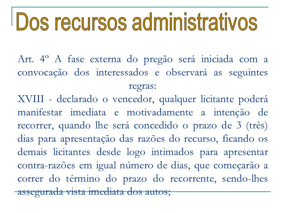 Dos recursos administrativos