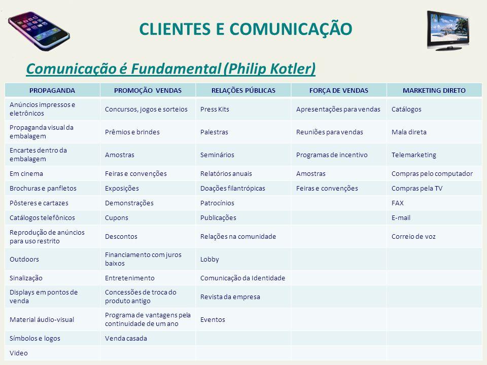 CLIENTES E COMUNICAÇÃO