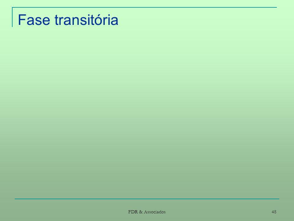 Fase transitória FDR & Associados