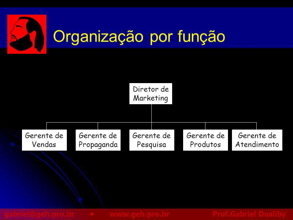Organização por função