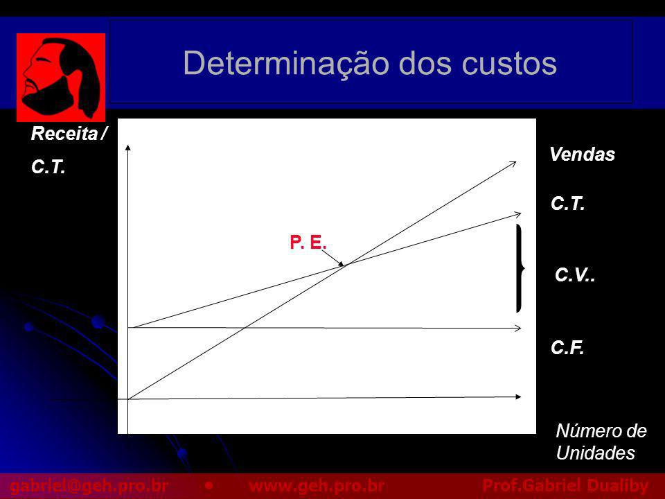 Determinação dos custos
