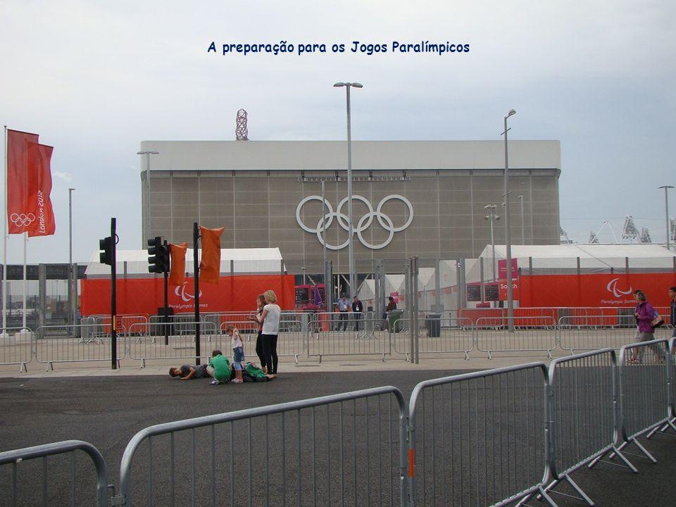 A preparação para os Jogos Paralímpicos
