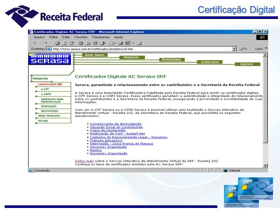 Certificação Digital 10